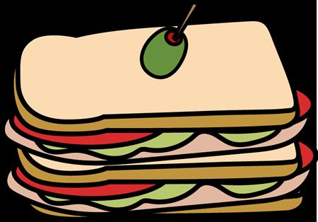 Club Sandwich Clip Art.