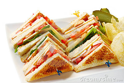 Club Sandwich Stock Photos, Images, & Pictures.