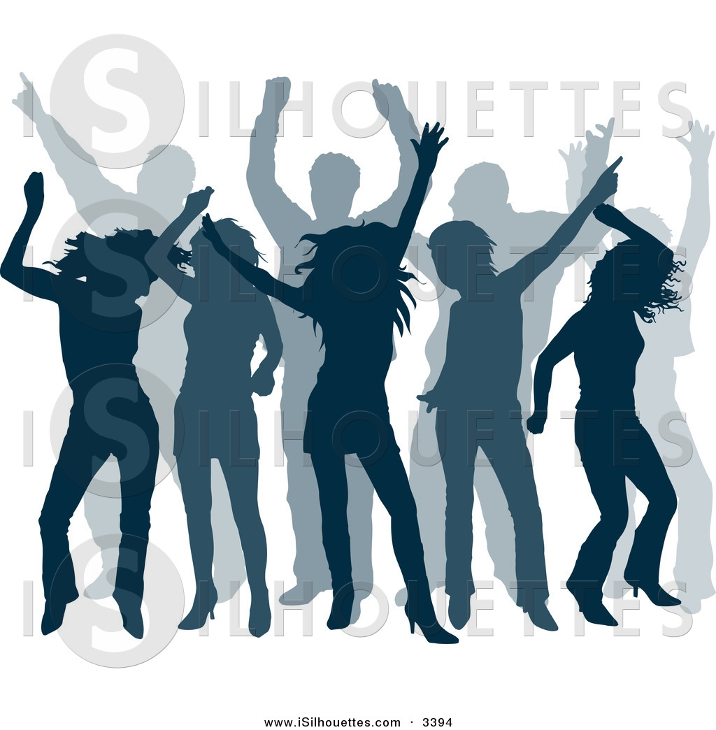 Dance Club Clipart.