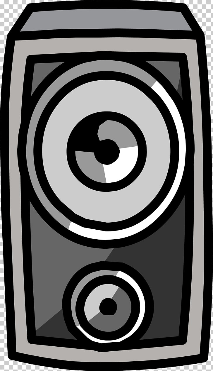 Club Penguin Loudspeaker Windows Phone, audio speakers PNG.