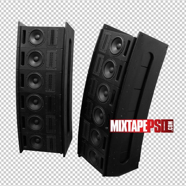 Black Club Speakers 6.