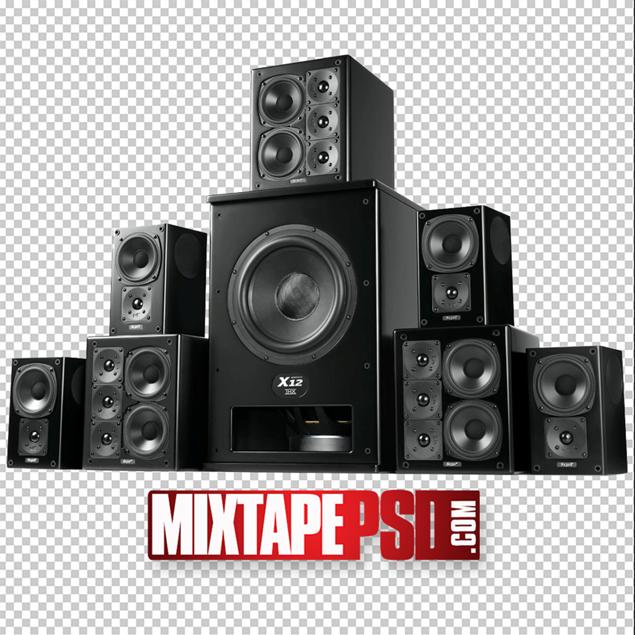 Black Club Speakers 7.