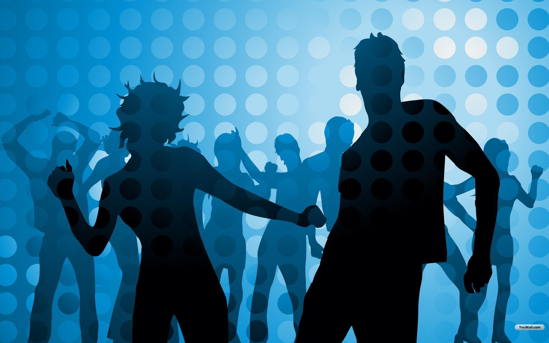 Dance club clipart.
