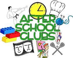 School Clubs Clipart.