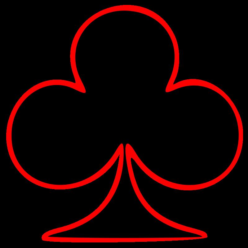 Clubs symbol.