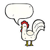 Royalty Free Cluck Clip Art.