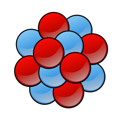 atom clump.