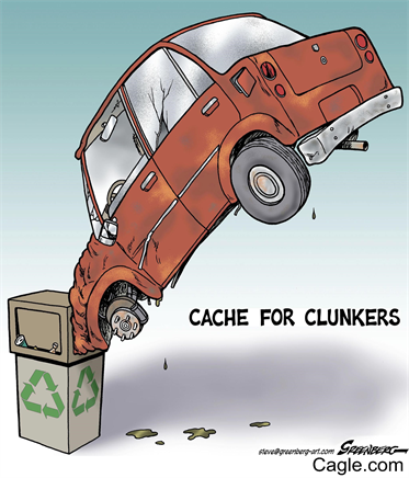 cash for clunkers.
