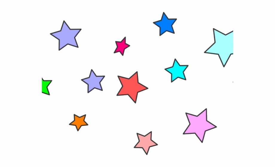 Cluster Stars Clipart Transparent Background, Transparent Png.
