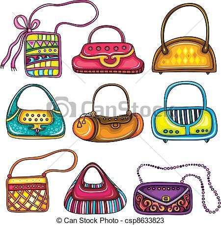 Vectors of Set of purses.