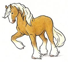 Clydesdale horses clipart 4 » Clipart Station.