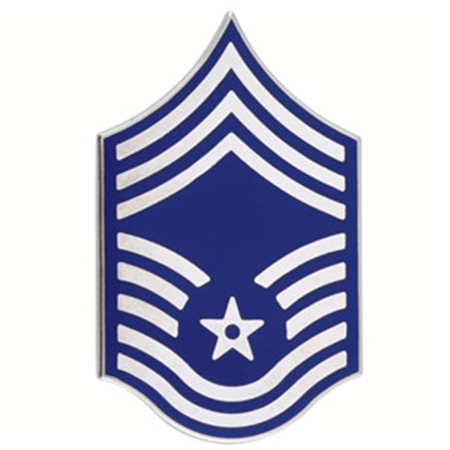 Showing post & media for Air force first sergeant symbol.