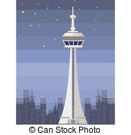 Cn tower Stock Illustrations. 85 Cn tower clip art images and.