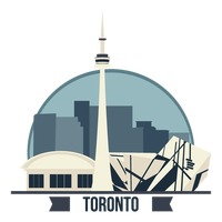 Cn tower clipart.