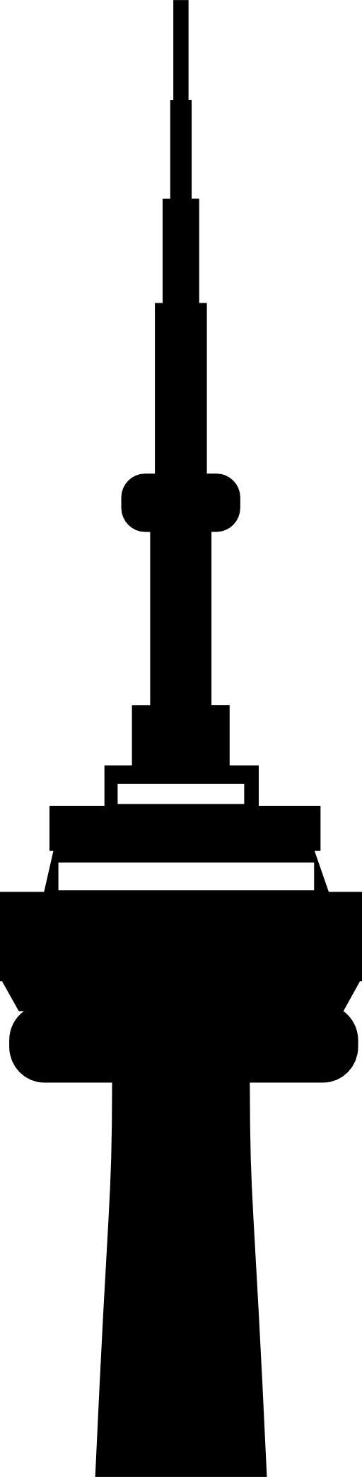 Cn tower vector.