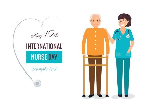 Best Nursing Assistant Illustrations, Royalty.