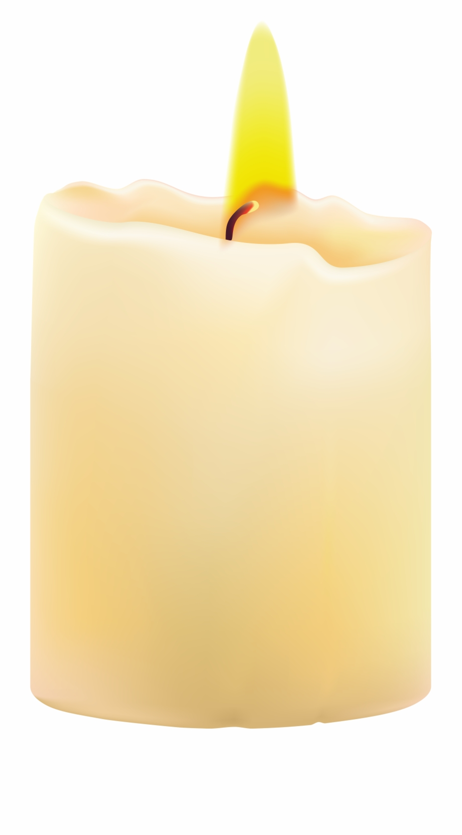Wax Candle Clipart Transparent.