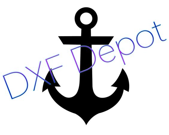 Anchor .dxf format..