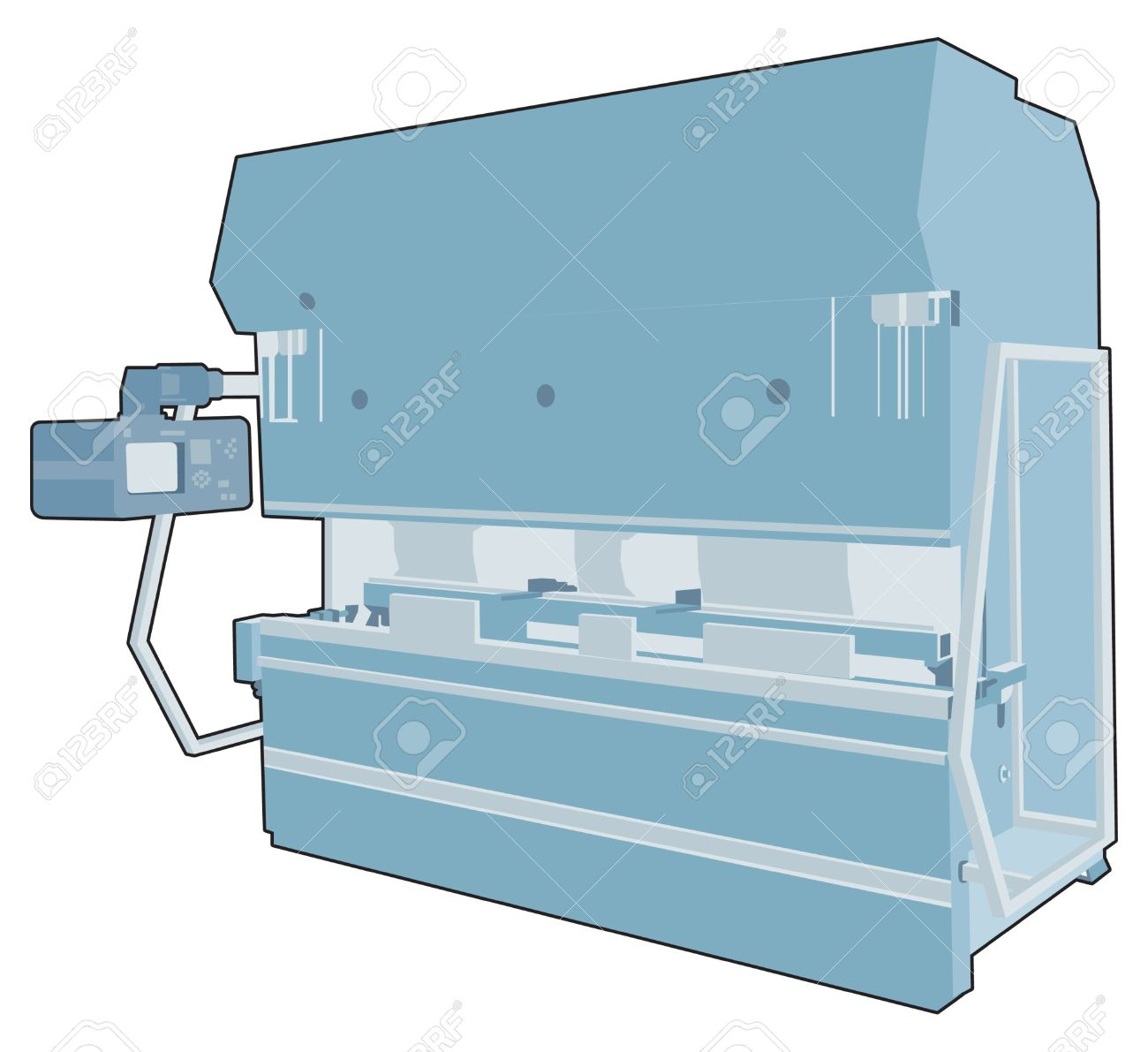 Industrial Factory Machine 7 Royalty Free Cliparts, Vectors, And.