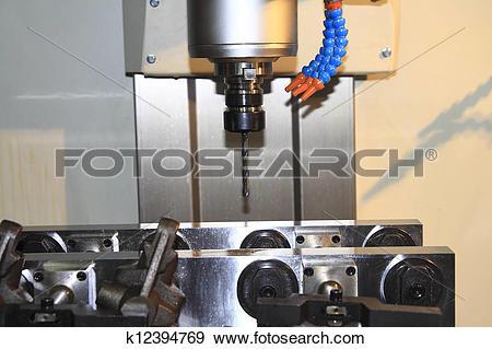 Stock Photograph of CNC milling ,Machine tool k12394769.