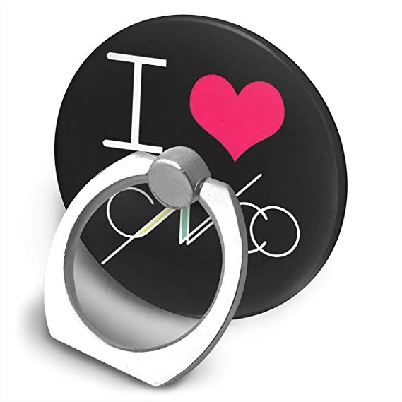 Amazon.com: Hodenr Cnco Logo 360 Degree Rotating Finger Ring.