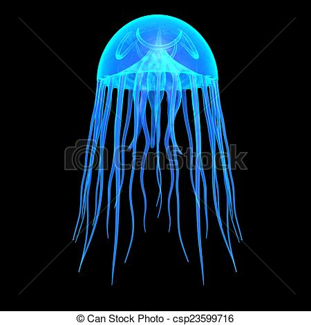 Clipart of JellyFish.