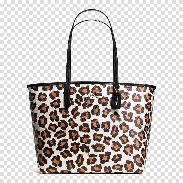 Ocelot Leopard Tapestry Tote bag, COACH leopard handbags.