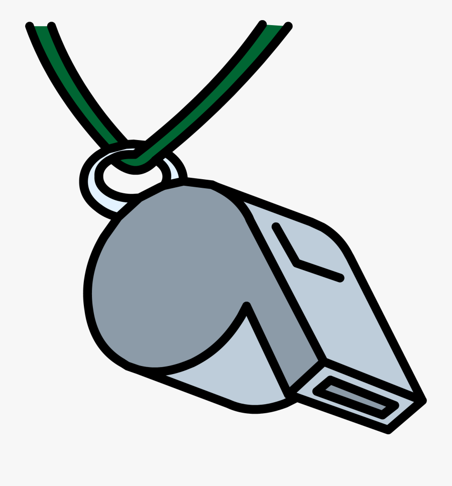 Transparent Referee Whistle Clipart.