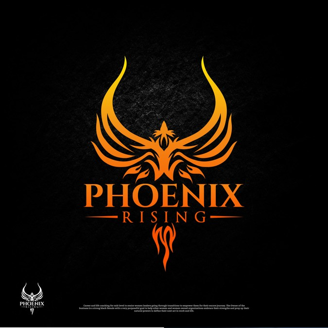 Phoenix Rising Career & Life Coaching Logo.