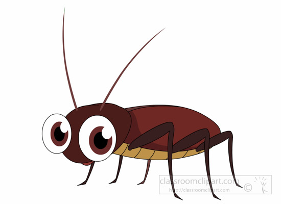 Cockroach Insect Clipart » Clipart Station.