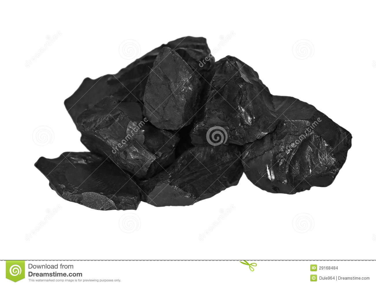 Pile of coal clipart.