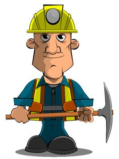 Coal toss clipart.