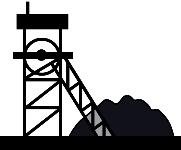 Coal mine clipart.
