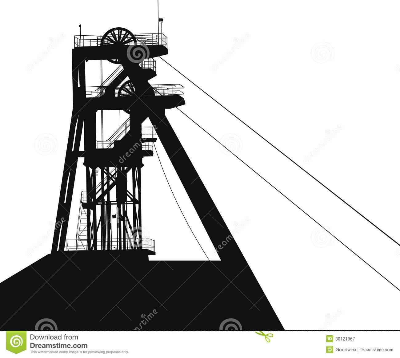 Coal Mining Clipart.