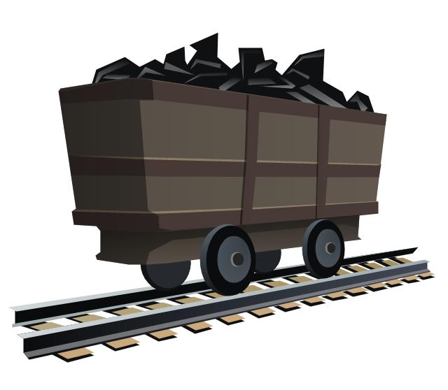 Oil and Coal Clip Art.