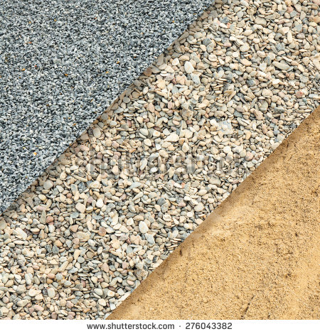Fine Coarse Gravel Sand Background Stock Photo 276043382.