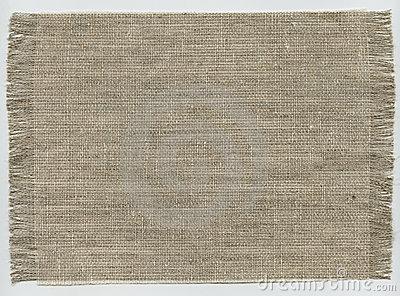 Coarse Cloth Stock Image.