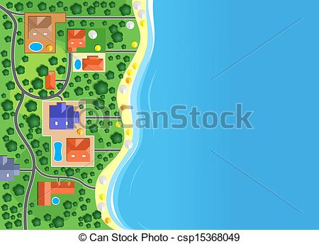 The coastline clipart #8