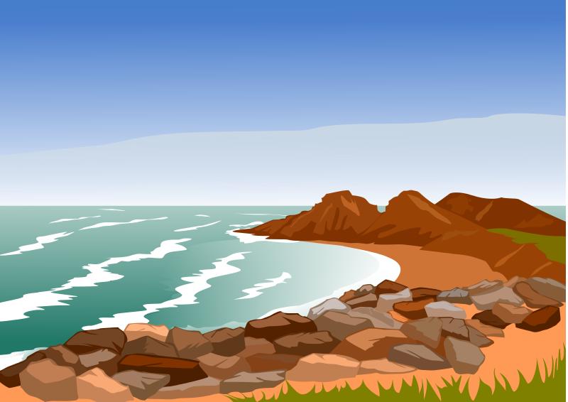 Coast Clip Art.