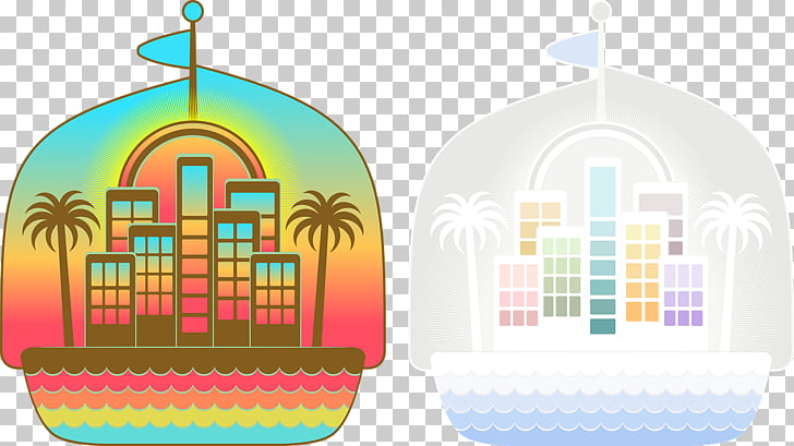 Beach Hotel , Coastal apartments PNG clipart.