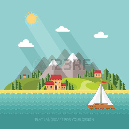 39,502 Coastal Stock Vector Illustration And Royalty Free Coastal.