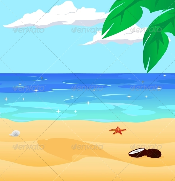 Beach water clipart.
