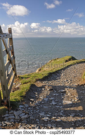 Picture of Southwest Coast Path at Baggy Point.