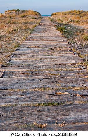 Stock Photos of Coastal path.