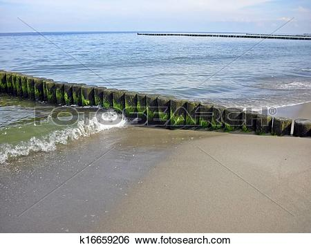 Stock Images of Coastal protection k16659206.
