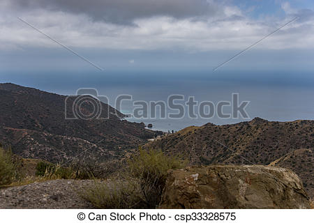 Picture of Santa Catalina Island Coastal View.