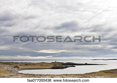 Pictures of Iceland, scenic coastal view faa077000438.