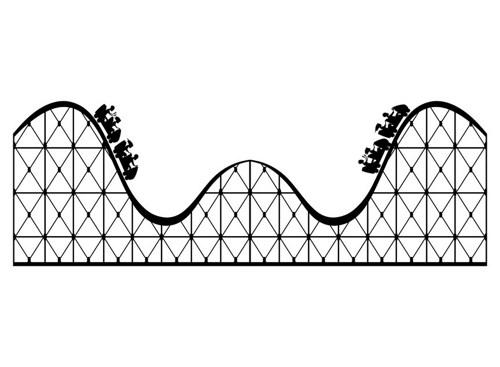 Roller coaster clip art clip art rollercoaster clipart clipart 3.