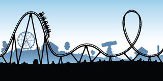 Rollercoaster Stock Illustrations.