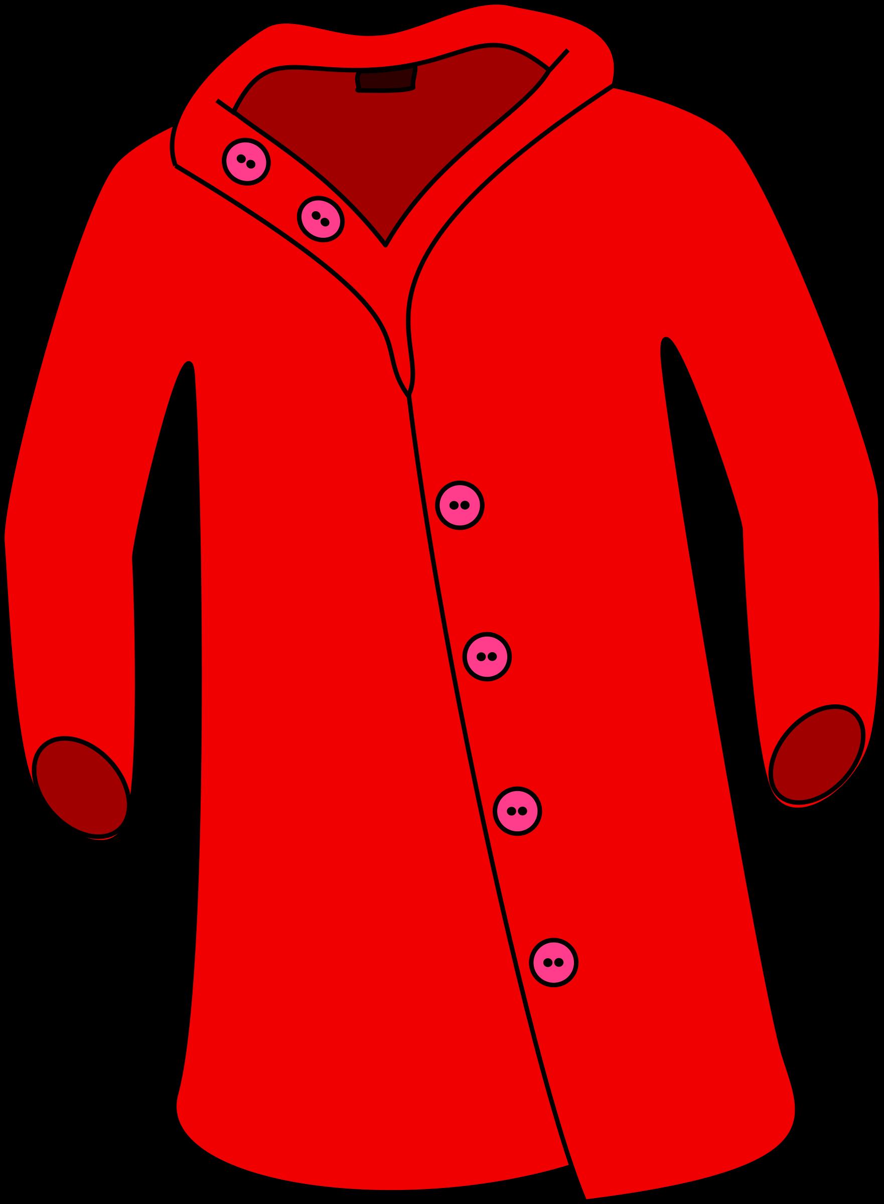 Big coat clipart.